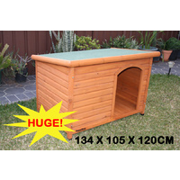 Super Large Wooden Dog Kennel Comfort