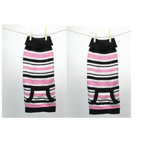 Pink Candy Stripe Dog Jumper Small