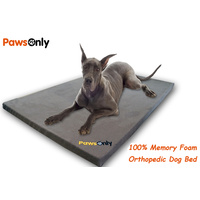 Extra Large Brown Comfort Orthopedic Memory Foam Dog Bed