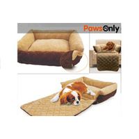 Small Sofa Extendable Dog Bed / Pet Couch Cover Protection