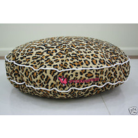 Designer Dog Bed - Leopard Skin