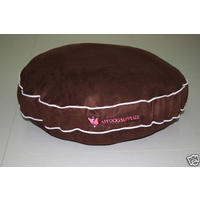 Designer Dog Bed - Chocolate