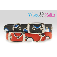 Max & Bella Poker Dots Dog Collar