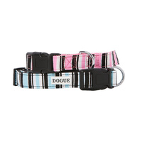 DOGUE Canvas Striped Dog Collar