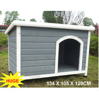 Super Large Wooden Dog Kennel Comfort Plus