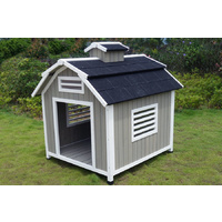 Extra Large The Barn Wooden Dog Kennel