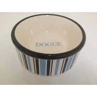 Blue Dogue Striped Bowl