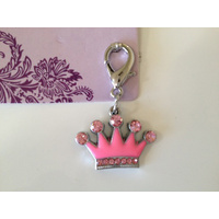 Dog Charm Pink Princess