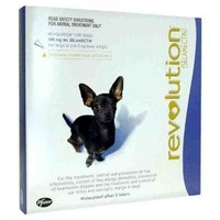 Revolution For Dogs - Total Control Purple 3 PK